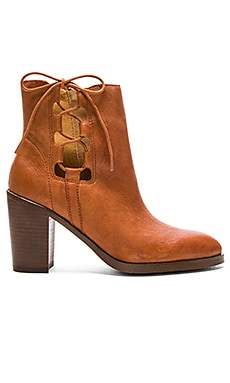 Jace Booties in Rust