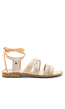 Gem Sandal in Mist Grey