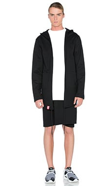 LATOKYO Trench Robe in Black