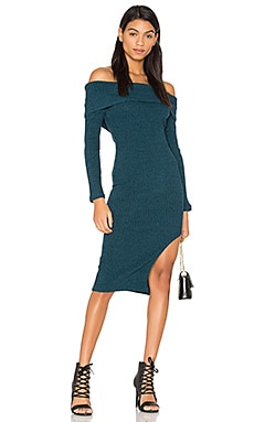 Rib Knit Bandeau Dress