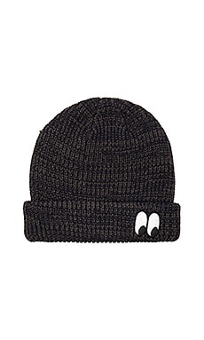 Lazy Oaf Grey Eye Beanie in Grey