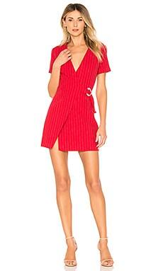 Купить Платье-футляр turk - L'Academie красного цвета