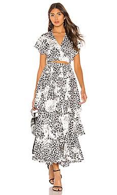 The Chante Midi Dress L'Academie $268