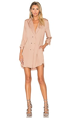 L'Academie The Military Dress in Camel
