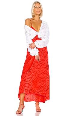 The Amine Maxi Dress L'Academie $198