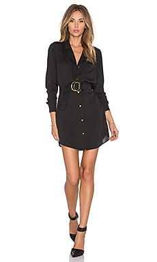 L'Academie The Tunic Dress in Black
