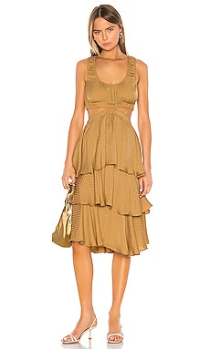The Ottavia Midi Dress L'Academie $258