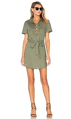 The Safari Dress in Fern