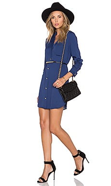 L'Academie The Tunic Dress in Navy