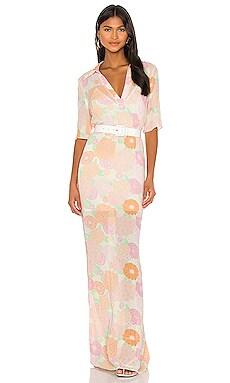 The Micheline Maxi Dress L'Academie $167