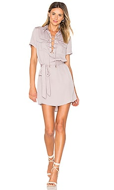 The Safari Dress in Mauve