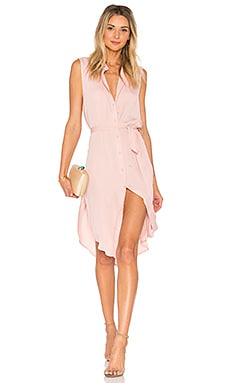 The Sleeveless Midi Dress in Pale Orchid