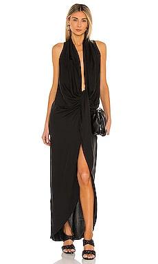 Drape Front Midi Dress L'Academie $181