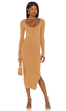 Nessa Sweater Dress L'Academie $158
