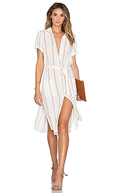 The Shirt Dress in Stripe