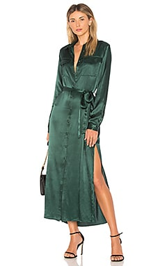 The Long Sleeve Shirt Dress L'Academie $198