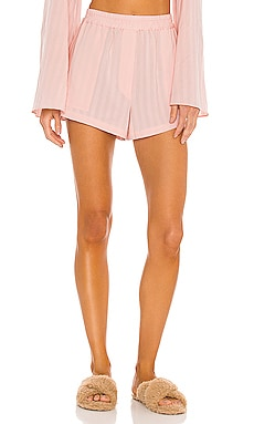 Elastic Waist Pajama Short L'Academie $92 (FINAL SALE)
