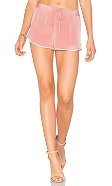 x REVOLVE The Silk Short in Nude