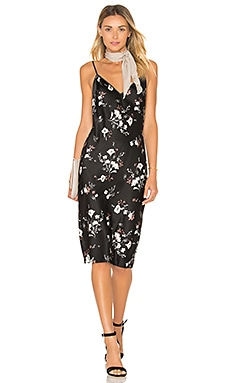 L'Academie x REVOLVE The Silk Slip in Floral