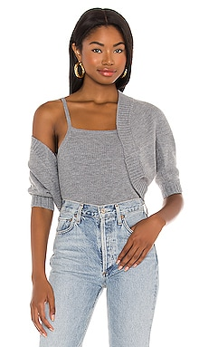 Ribbed Cami Sweater Set L'Academie $168