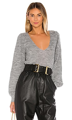 Rosette Sweater L'Academie $138 BEST SELLER