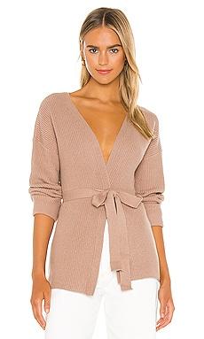 Kori Wrap Sweater L'Academie $138 NEW