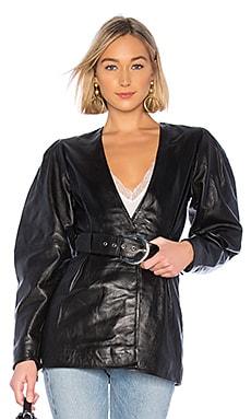 The Marais Leather Jacket L'Academie $349