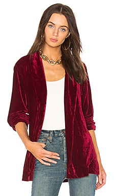 x REVOLVE The Adela Smoking Jacket