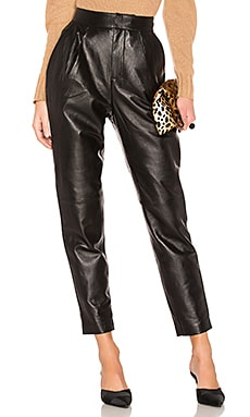 The Bisous Leather Pant L'Academie $279