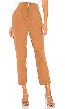 Ansley Leather Pant L'Academie $319