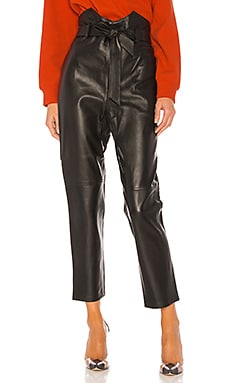 Delaney Leather Pants L'Academie $498