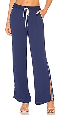 The Lounge Pant in Navy & Ivory