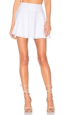 x REVOLVE The Circle Skirt in White