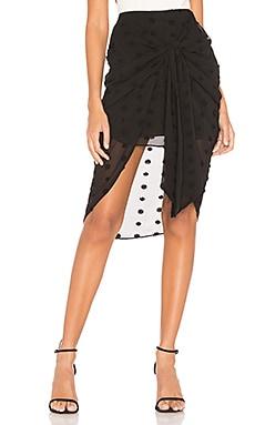 The Kayla Midi Skirt L'Academie $158