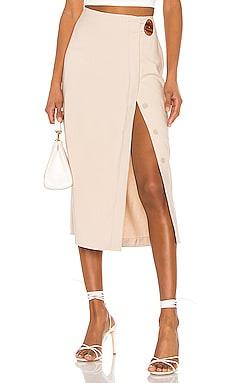 The Jeanne Midi Skirt L'Academie $138