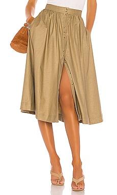 The Maxime Midi Skirt L'Academie $198