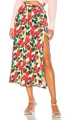 The Linda Midi Skirt L'Academie $178 BEST SELLER