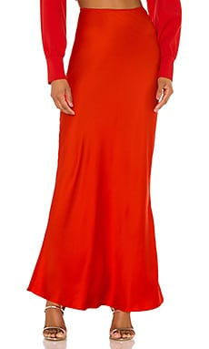 The Nadaleine Maxi Skirt L'Academie $168 NEW ARRIVAL