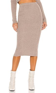 Sienna Midi Skirt L'Academie $168