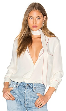 x REVOLVE The Silk Blouse
