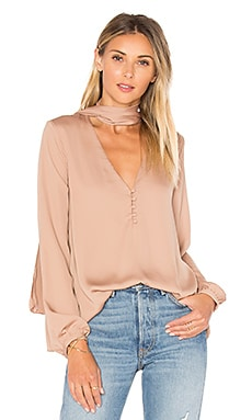 The 70's Blouse en Camel
