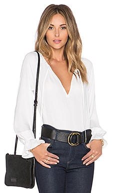L'Academie The Boho Blouse in White