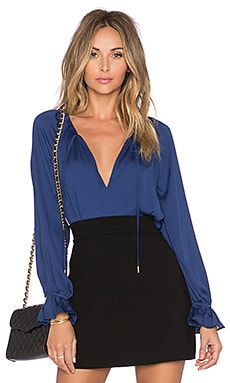 The Boho Blouse in Navy