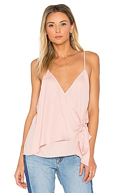 The Wrap Cami in Pale Orchid