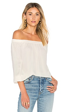 The Elastic Off Shoulder en Ivory