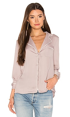 The Lounge Shirt em Mauve & Ivory