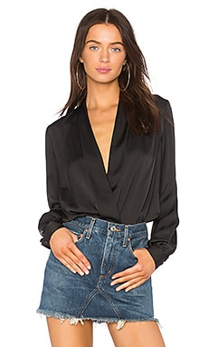 The Long Sleeve Bodysuit L'Academie $128