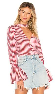 Купить Рубашку felix - L'Academie красного цвета