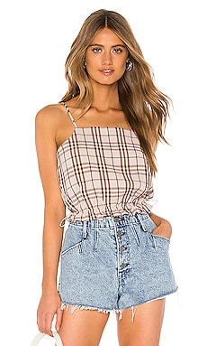 The Jane Crop Top L'Academie $128 NEW ARRIVAL