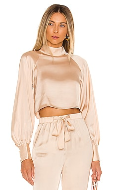 The Joli Crop Top L'Academie $158 NEW ARRIVAL